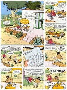 Extrait de Tif et Tondu -5'- Le retour de Choc