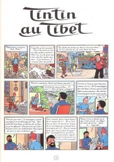 Extrait de Tintin -20- Tintin au Tibet