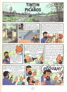 Extrait de Tintin -23- Tintin et les picaros