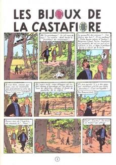 Extrait de Tintin -21- Les bijoux de la Castafiore