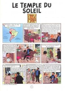 Extrait de Tintin -14- Le temple du soleil