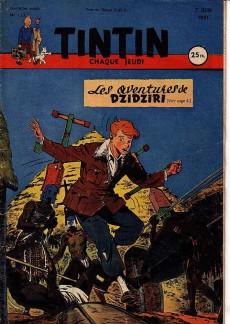 Extrait de (Recueil) Tintin (Album du journal - Édition française) -9- Tintin album du journal