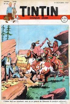 Extrait de (Recueil) Tintin (Album du journal - Édition belge) -4- Tome 4