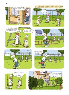 Extrait de Les rabbit -1- Carotte Power