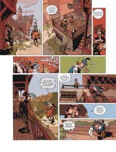 Extrait de Les trois Mousquetaires (Morvan/Rubén) -1- Volume 1