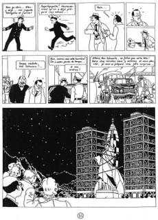 Extrait de Tintin - Pastiches, parodies & pirates -16- L'Énigme du 3e Message