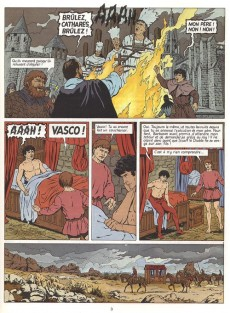 Extrait de Vasco -8- Le chemin de Montségur