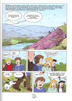Extrait de Vick et Vicky (Les aventures de) -9- Les sorcières de Brocéliande - La révélation