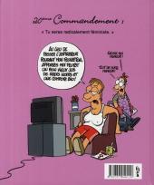 Verso de Les 40 commandements - Les 40 commandements de la femme