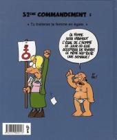 Verso de Les 40 commandements - Les 40 commandements de l'homme