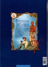 Verso de Les 4 princes de Ganahan -1- Galin