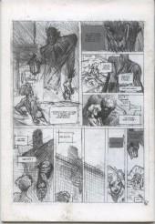 Verso de Le codex Angélique -1HC- Izaël