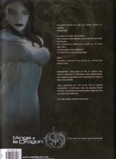 Verso de L'ange et le dragon -1- Livre 1 - Et la mort ne sera que promesse