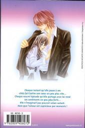 Verso de A romantic love story -2- Tome 2