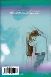Verso de A romantic love story -3- Tome 3