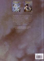Verso de L'auberge du bout du monde -2- Des pas sur le sable