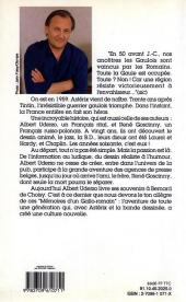 Verso de (AUT) Uderzo, Albert -1991- Uderzo-storix