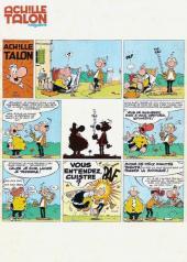Verso de Achille Talon Magazine -4- Les aventures de papa talon