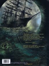 Verso de Les corsaires d'Alcibiade -1- Élites secrètes