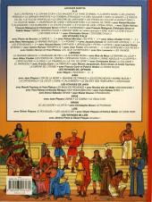 Verso de Alix (Les Voyages d') -20a2008- Les jeux olympiques