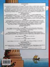 Verso de Alix raconte -2- Cléopâtre