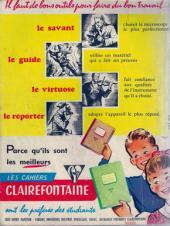 Verso de Almanach du Journal de Mickey -2- Année 1958