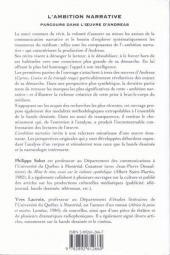 Verso de (AUT) Andreas -1999- L'ambition Narrative - Parcours dans l'œuvre d'Andreas