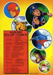 Verso de Aquaman (Eclair comics) -11- Sigle redoutable