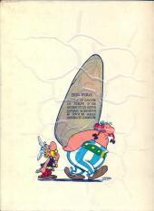 Verso de Astérix -1b66- Astérix le gaulois