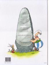 Verso de Astérix -26b2003- L'odyssée d'astérix