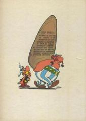 Verso de Astérix -8a1968- Astérix chez les Bretons