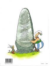 Verso de Astérix (Hachette) -14b2007- Astérix en hispanie