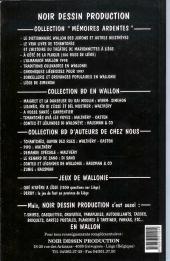 Verso de (AUT) Hausman -4- Sorcellerie et croyances populaires en Wallonie