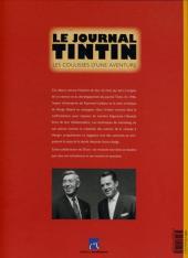 Verso de (DOC) Journal Tintin -6- Le Journal Tintin - Les Coulisses d'une aventure