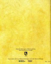 Verso de (AUT) Pellerin -4- Corsaire à la barre Landerneau au temps de Barthélémy Kerros