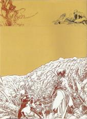 Verso de La geste des Chevaliers Dragons -HS- Carnet de croquis - Varanda - Calliope spécial