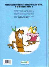 Verso de L'auto école -HS- Best of 10 ans bamboo