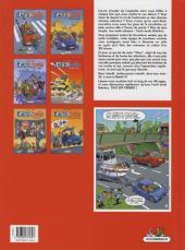 Verso de L'auto école -6- Leçon de bonne conduite