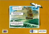 Verso de Jacques Drouineau, mousse sur la frégate Hermione (Une aventure de) -1- Mission Lafayette