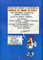 Verso de Les aventures de l'équipe de France! -1- Visa pour l'Argentine