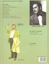 Verso de Blake et Mortimer (Les Aventures de) -6b1993b- La Marque Jaune