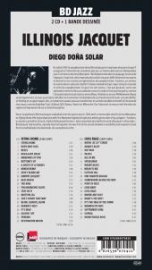 Verso de BD Jazz - Illinois Jacquet