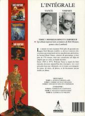 Verso de Bob Morane 8 (Intégrale Dargaud-Lombard) -3- Monsieur Ming et l'Empereur