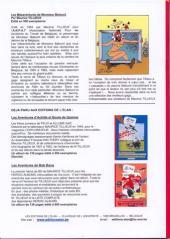 Verso de Les mésaventures de monsieur Balourd - Monsieur Balourd