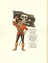 Verso de Barbe-Rouge -7- L'île de l'homme mort