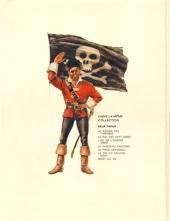 Verso de Barbe-Rouge -11- Le trésor de Barbe-Rouge