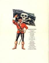 Verso de Barbe-Rouge -17- Le vaisseau de l'enfer