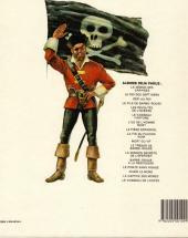 Verso de Barbe-Rouge -2e1985- Le Roi des sept mers
