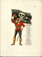 Verso de Barbe-Rouge -6b1974- Le vaisseau fantôme