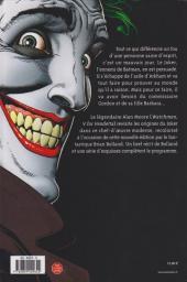 Verso de Batman : Souriez (The Killing Joke) -b09- The Killing Joke